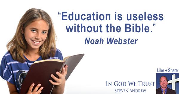 Christianity in Schools Steven Andrew