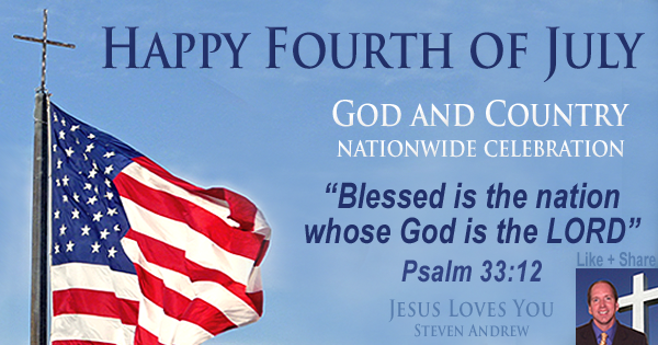 Fourth of July God and Country